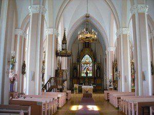 Bažnyčios vidus