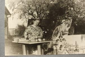 Obelių krašto garbės pilietės Elenos Zalogaitės kūrybos darbų paroda